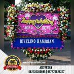 Bunga Papan Ucapan Happy Wedding, Bunga Pernikahan