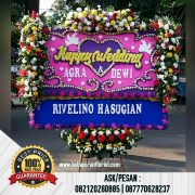 Bunga Papan Ucapan Happy Wedding, Bunga Pernikahan