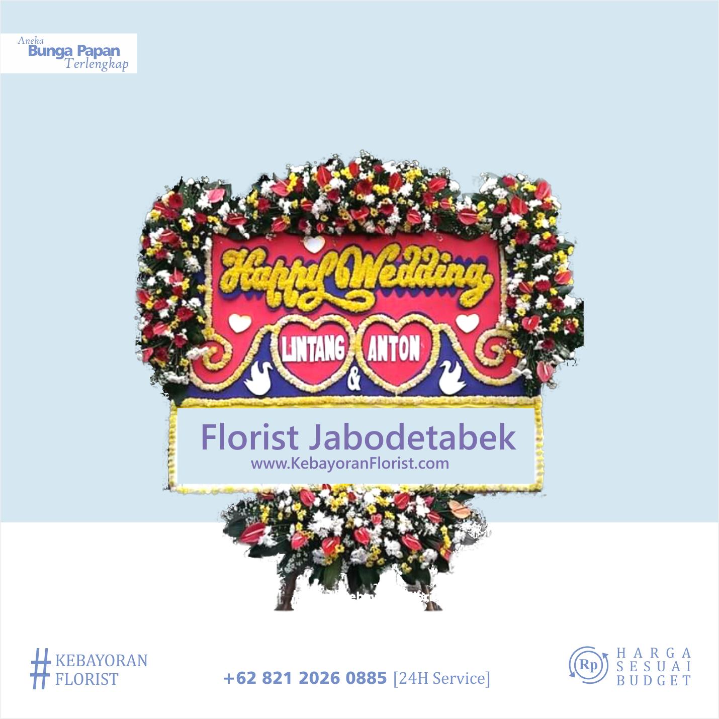 toko bunga papan jakarta selatan kebayoran florist 2019