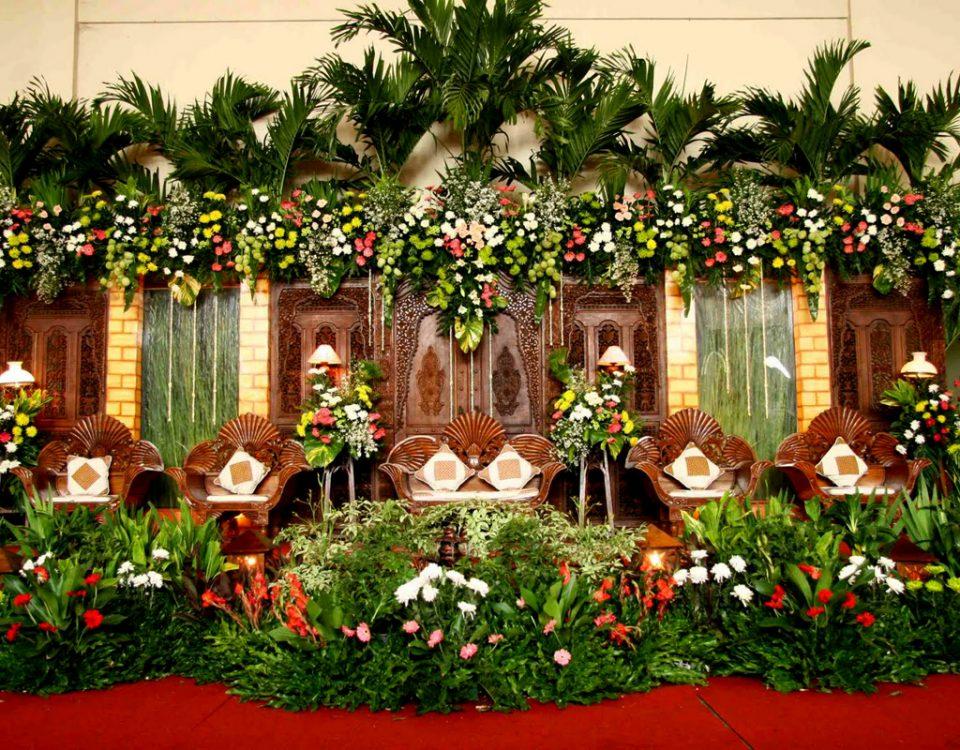 paket dekorasi florist wedding